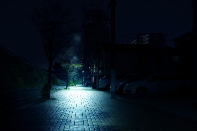 暗闇を照らす光